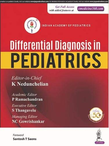 Differential Diagnosis in Pediatrics (Indian Academy of Pediatrics)