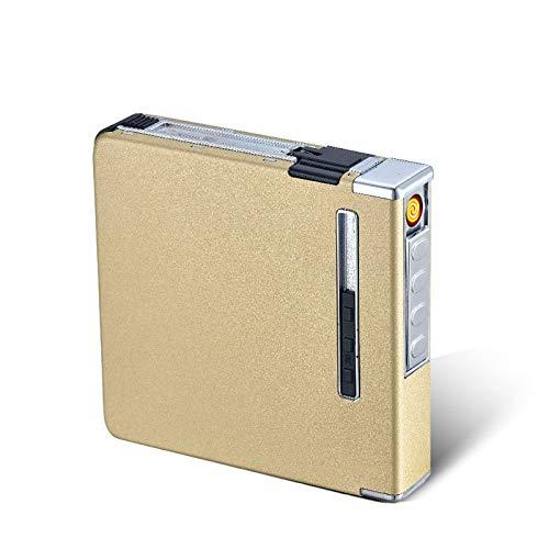 RONSHIN Caja Cigarrillos automática Metal Aluminio