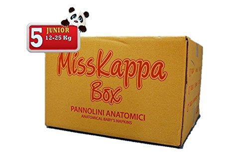225 Pannolini MissKappa Formato Box taglia 5