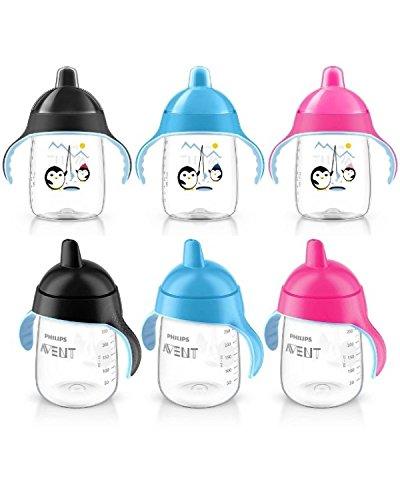 Schmutz Cup Griff (Philips Avent SIP, Drip Auslauf Cup BPA-frei 18m + 340ml (Pink))