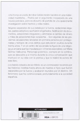 Los bebés robados de Sor María: Testimonios de un comercio cruel (OTROS NO FICCIÓN) por SOLEDAD ARROYO SANCHEZ