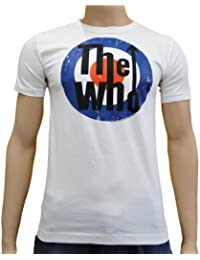LOGOSH!RT Retro Rock Musik Herren T-Shirt THE WHO - ALMOST WHITE Gr. M (L341)