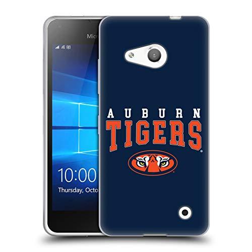 Head Case Designs Offizielle Auburn University AU Auburn Tiger Soft Gel Huelle kompatibel mit Microsoft Lumia 550 -