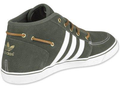 Adidas Originals uomo sneaker Court Deck Vulc Mid V24025 classiche Braun (OAK/WHT/WHTV)
