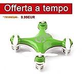 Cheerson CX-10 RC Drone Mini 2.4G 4CH 6 Axis Gyro Remoto Nano quadricottero...