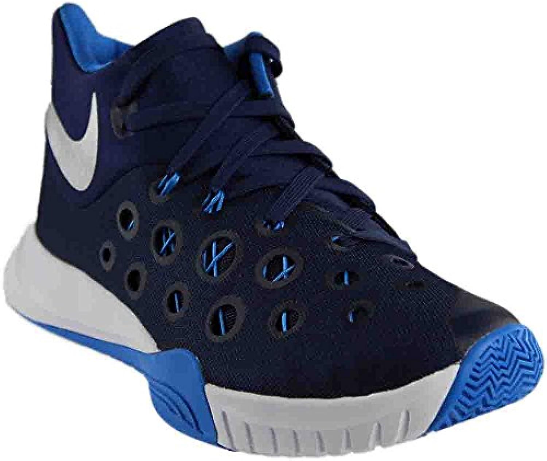 Nike Zoom Hyperquickness Basketball Shoe (Navy  12 D(M) US)