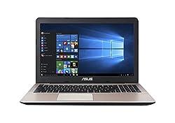 Asus A555LF-XX191T (A555L) 15.6-inch Laptop (Core i3 4005U/8GB/1TB/Windows 10/Nvidia GeForce 930M Graphics), Dark Brown-plastic