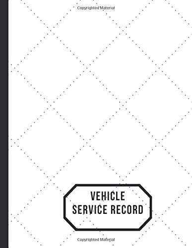 Vehicle Service Record: Car Maintenance and Safety Routine Inspection Record Log Book Journal For All Your Automobile and Vehicle Check, Repair & Gas ... pages. (Vehicle maintenance logs, Band 32) - Gas-log-starter