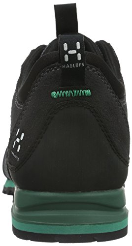 Haglöfs Roc Icon Gt, Chaussures de Randonnée Basses Femme Noir (Magnetite/Jade)