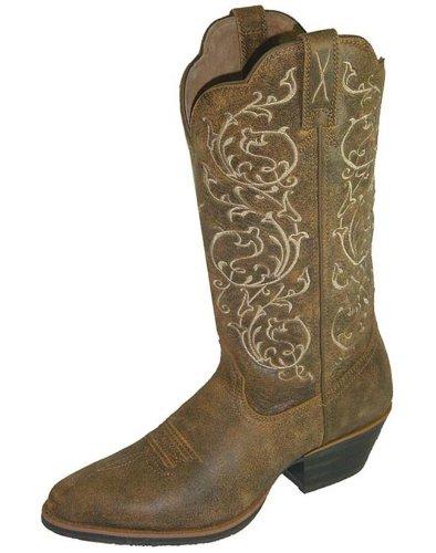Twisted X Damen Western Schokolade Bestickt Cowgirl Stiefel Schuhe-wwt0032, Braun (braun), 38.5 B(M) EU -