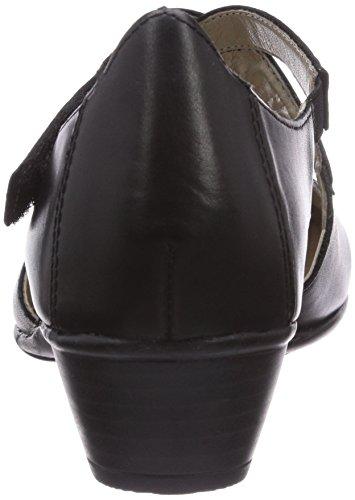 Remonte R7337, Chaussures à talons - Avant du pieds couvert femme Noir - Schwarz (schwarz 01)