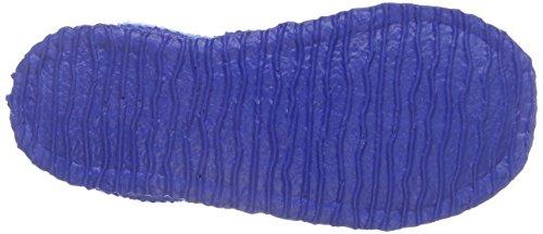 Giesswein Jungen Triptis Flache Hausschuhe Blau (553 Cobalt)