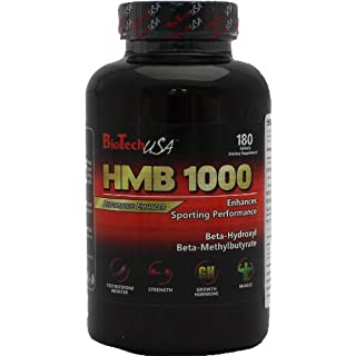 BioTech USA HMB 1000  180 Tabletten, 1er Pack (1 x 180 g)