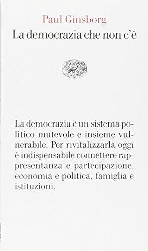 La democrazia che non c'