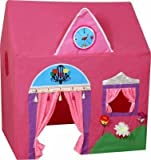 #8: 4tens Kid's Plastics Jumbo Size Queen Palace Tent House Pink Colour