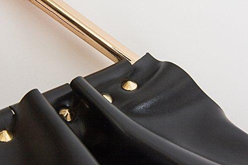 Zarapack , Damen Tote-Tasche schwarz schwarz L schwarz