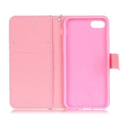 Eine Vielzahl von Farben XFAY HX-455 iPhone 7plus Handyhülle Case für iPhone 7plus Hülle im Bookstyle, PU Leder Flip Wallet Case Cover Schutzhülle für Apple iPhone 7plus-2 Farbe-24