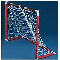 LIULU Objetivos de portátiles de Hockey GoalsChildren Son Ideales for Hockey sobre Piso de Interior y de Hockey de Rodilla (Color : Red, tamaño : 138cm*117cm*61cm)
