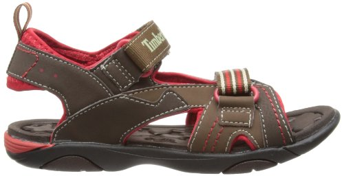 Timberland Dunebuggy 2 STRP Unisex-Kinder Sport- & Outdoor Sandalen Braun (Dark Brown)