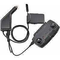 PENIVO 2 in 1 Mavic Air Intelligente Batterie Ladestation, Fernbedienung 1 USB Ladeanschluss + 1 Ladegerät Port Autoladegerät für DJI Mavic Air Drone
