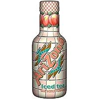 Arizona Iced Tea avec Peach Flavour, thé glacé, PET - 0.5L