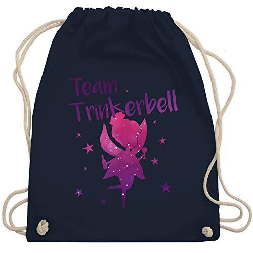 Auf Ihr Witze Kostüm - JGA Junggesellinnenabschied - Team Trinkerbell - Unisize - Navy Blau - WM110 - Turnbeutel & Gym Bag