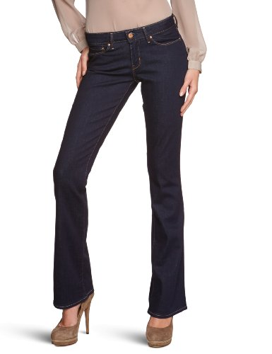 Levi's® Damen Jeans Bold Curve Skinny Bootcut, normale Leibhöhe, 05806, Gr. 27/34,...