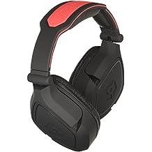 Gioteck EX-06 Binaural Head-band Black,Red headset - Headsets (Game console, Binaural, Head-band, Black, Red, Playstation 3, Xbox 360, Wireless)