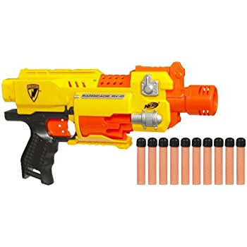 NERF N-Strike - Pistolet Semi-Automatique Barricade RV-10 (Import Royaume-Uni)