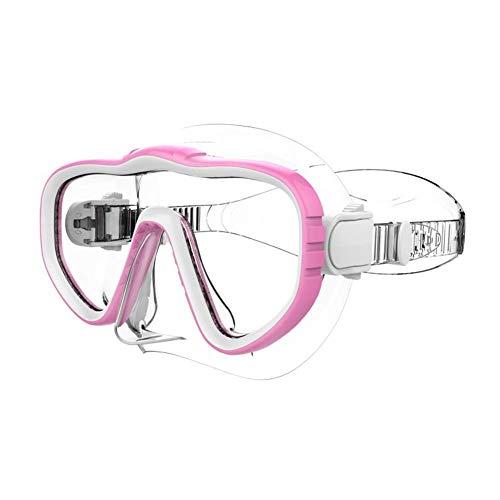 Breay1986 Schutzbrillen Arbeiten Schutzbrille HD des großen Kastennasenschutzes eine transparente Männer- und Frauenerwachsene schwimmende wasserdichte Maske um