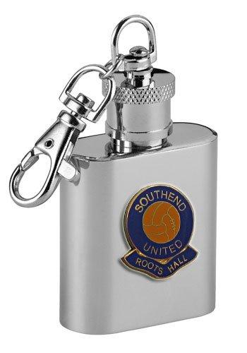Southend United  Roots Hall  Football Club 1oz Keyring Hip Flask