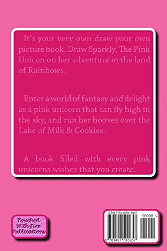 Sparkly, The Pink Unicorn: In The Land Of Rainbows: Volume 1
