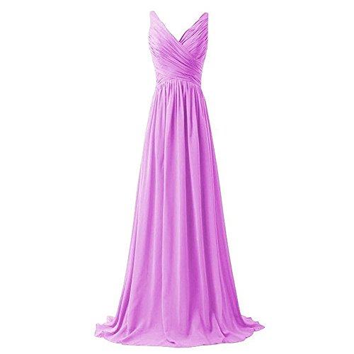 Drasawee Damen Empire Kleid 11#