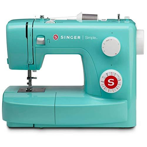 SINGER Simple 3223G - Máquina de coser Turquesa