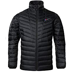 Berghaus Men's Tephra Reflect Down Jacket, Black, Medium