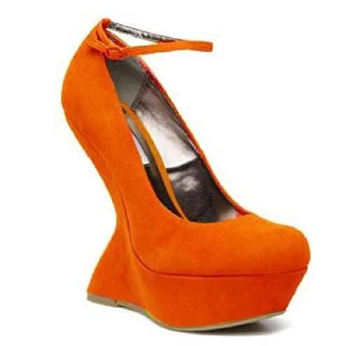 Plateforme Model Kopine par Gilliane Design Eu 33 au 44 Orange