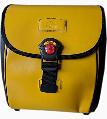 McNeill Ergo Light 3000 Leather-Line gelb Schulranzen Set Federmäppchen Sportbeutel Schultasche Ranzen