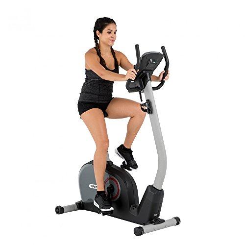 Spirit Upright Bike DBU 40 – Heimtrainer, Fitness Indoor Bike, Ergometer mit Hand-Puls-Sensoren - 2