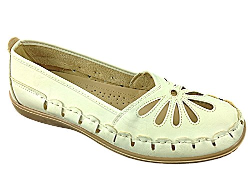 Foster Footwear, Mocassini donna White