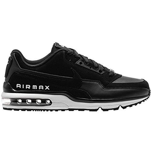 Nike Männer Air Max Ltd (Nike Mens Air Max LTD 3 Black White Leather Trainers 40.5 EU)