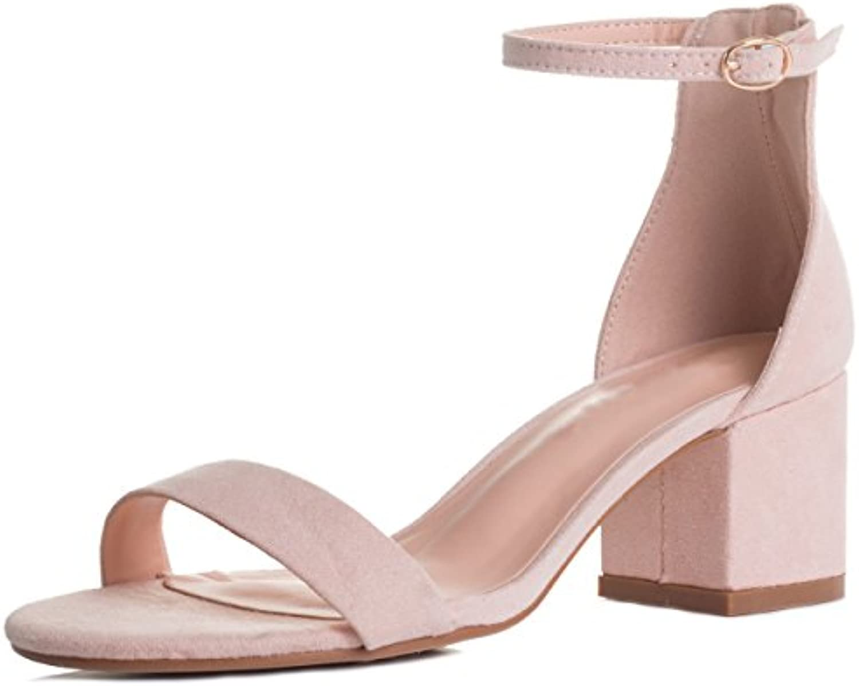 Spylovebuy Schnalle Deserving Damen Verstellbare Schnalle Spylovebuy Blockabsatz Sandalen Schuhe Pumps 68383f