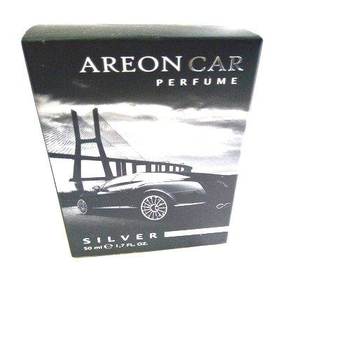 Areon Profumo per auto Lusso Deodorante Flacone (Argento 50ml)