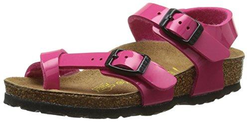 Birkenstock Mädchen Taormina Flansch Hinten, Pink (Vernis Pink), 35 EU