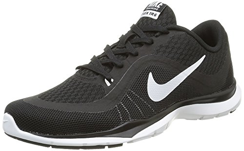 Nike WMNS Flex Trainer 6 - Sneakers Donna Bianco (Blanco (Black / White))