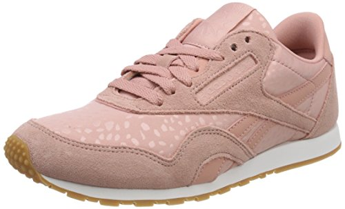 Classic Leather Nbk, Zapatillas para Mujer, Rosa (Pale Pink/Chalk Pink 000), 38.5 EU Reebok
