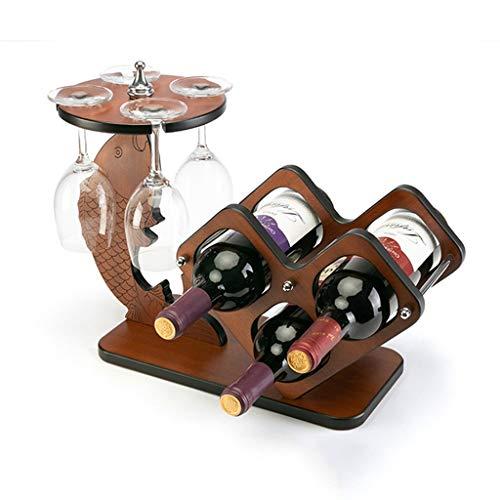 Weinregal Massivholz Auf den Kopf Weinglas Halter Kreative Wein Stehen Dekoration Moderne Minimalistische Wohnzimmer Dekorationen