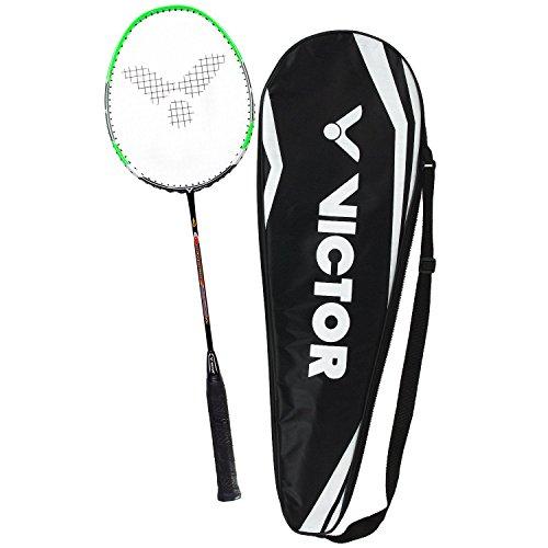 Badmintonschläger VICTOR V-3700 Magan PREMIUM 2- Farben - 100% Hi-Modolus-Graphit (Grün) (Coach Outlet Bag)