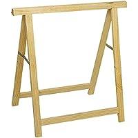 Cogex 62590 - Caballete de madera (750 x 750 mm)