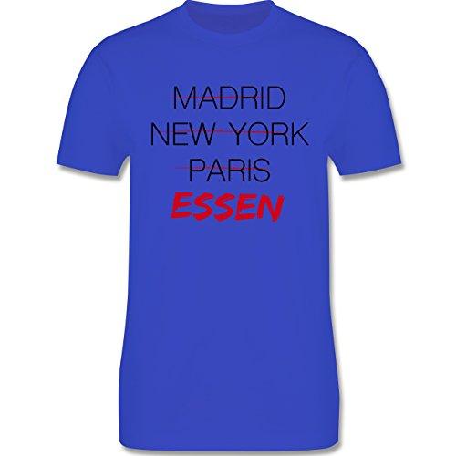 Städte - Weltstadt Essen - Herren Premium T-Shirt Royalblau