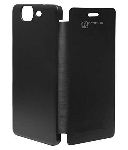 Evoque Flip Cover For Micromax Canvas 2 A120 Colours Black  available at amazon for Rs.149